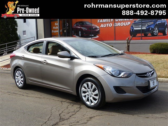 2011 Hyundai Elantra GLS Thank you for choosing the Bob Rohrmans Pre-Owned Superstore as one of y