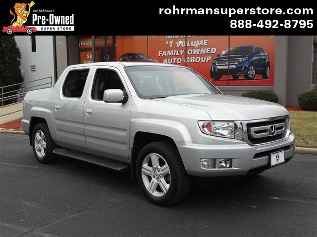 2011 Honda Ridgeline RTL wLeatherNavi Leather Navigation 4x4 4 New Tires Honda Reliabilit
