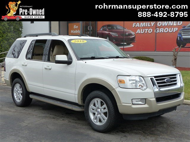2010 Ford Explorer Eddie Bauer Thank you for choosing the Bob Rohrmans Pre-Owned Superstore as on