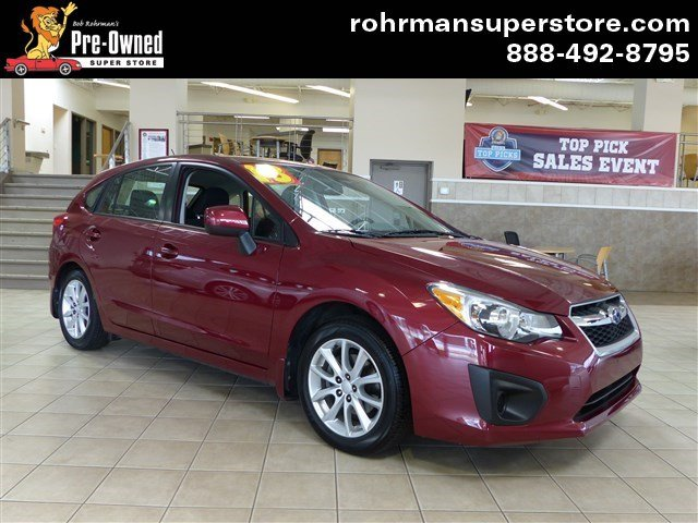 2013 Subaru Impreza 20i Sport Premium 5dr Thank you for choosing the Bob Rohrmans Pre-Owned Supe