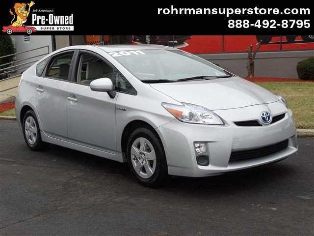 2011 Toyota Prius One Thank you for choosing the Bob Rohrmans Pre-Owned Superstore as one of your