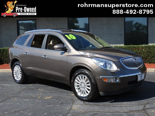 2010 Buick Enclave 1XL Carfax One Owner Priced Below the Market This 2010 Buick Enclave CXL w1X