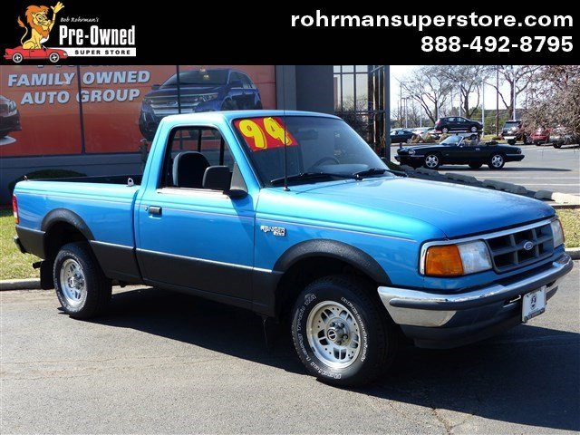 1994 Ford Ranger XL Thank you for choosing the Bob Rohrmans Pre-Owned Superstore as one of your c