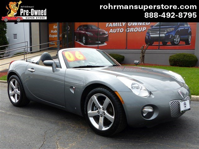 2006 Pontiac Solstice Base Thank you for choosing the Bob Rohrmans Pre-Owned Superstore as one of