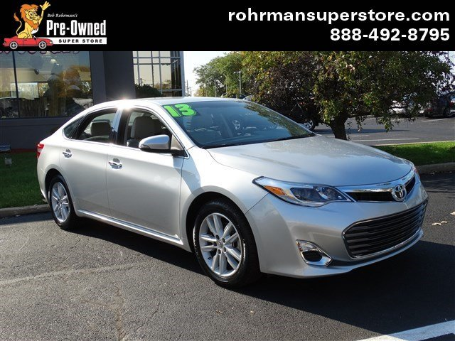 2013 Toyota Avalon XLE  ONE OWNER BALANCE OF FACTORY WARRANTY  LOW BANK RATES  EXTENDED TERM