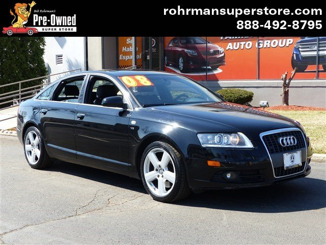 2008 Audi A6 42 Thank you for choosing the Bob Rohrmans Pre-Owned Superstore as one of your car