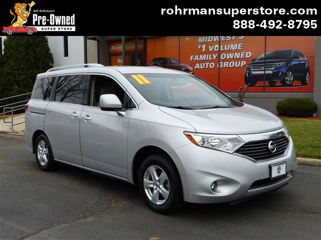 2011 Nissan Quest SV Thank you for choosing the Bob Rohrmans Pre-Owned Superstore as one of your