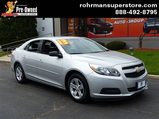 2013 Chevrolet Malibu 1LS Thank you for choosing the Bob Rohrmans Pre-Owned Superstore as one of