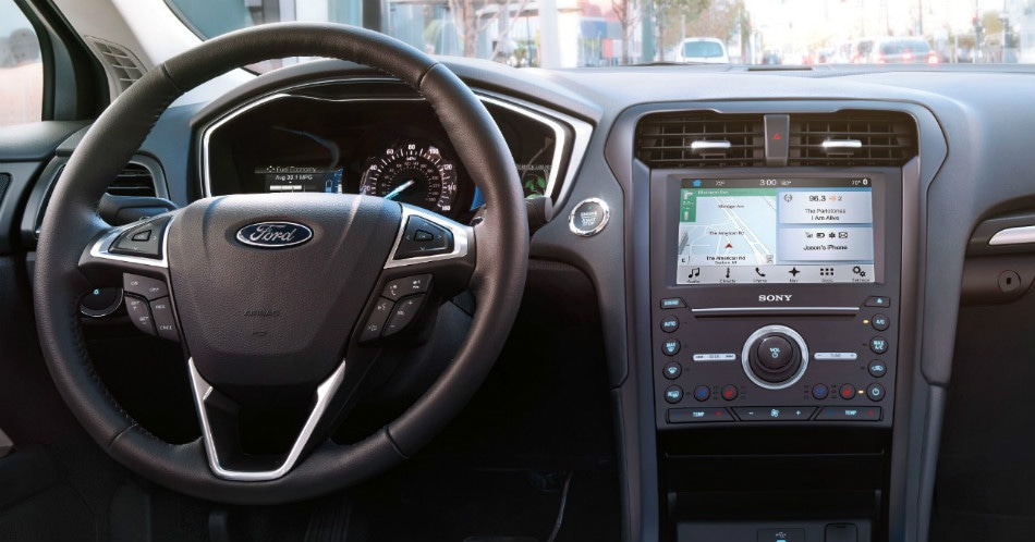 Ford Fusion Interior View