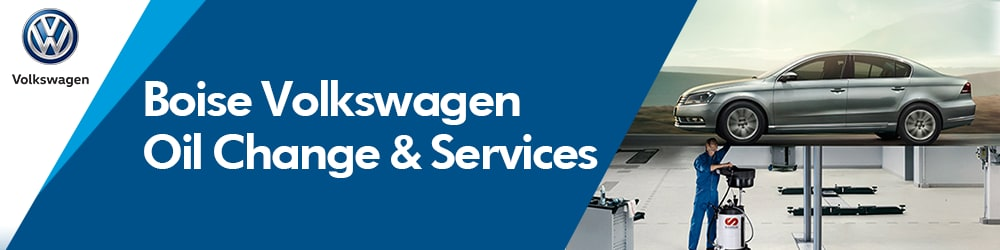 VW oil change car services at Boise Volkswagen