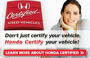 Used Honda Certified