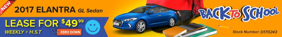 New 2017 Hyundai Elantra Special Offer