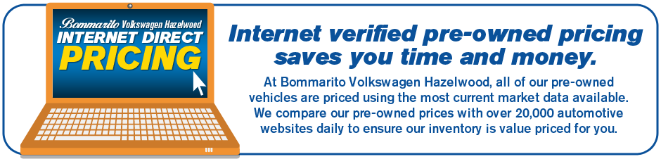 Our used car inventory has internet verified pricing to save you time.