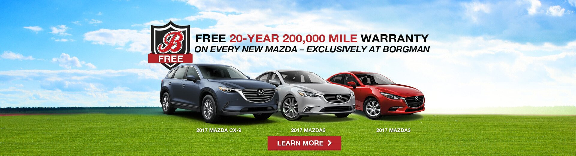 New ford mazda lineup