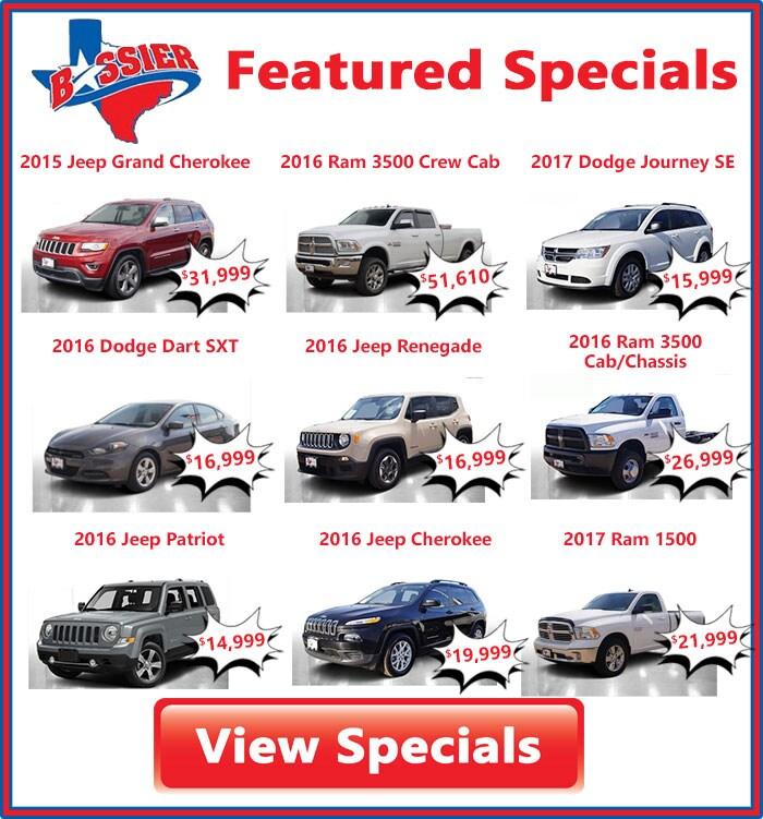 Chrysler Dodge Jeep & Ram Dealership Waco, Corsicana