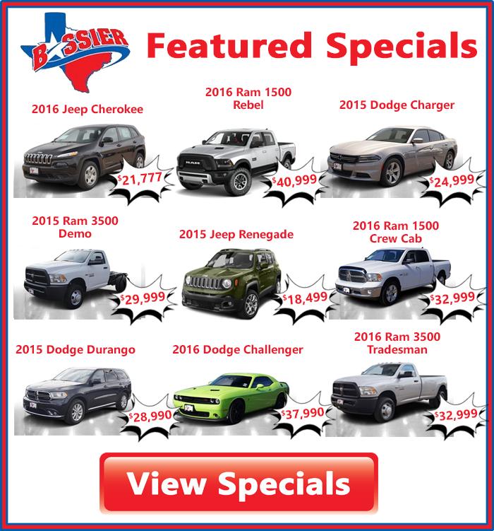 December Specials At Bossier In Hillsboro, TX.png