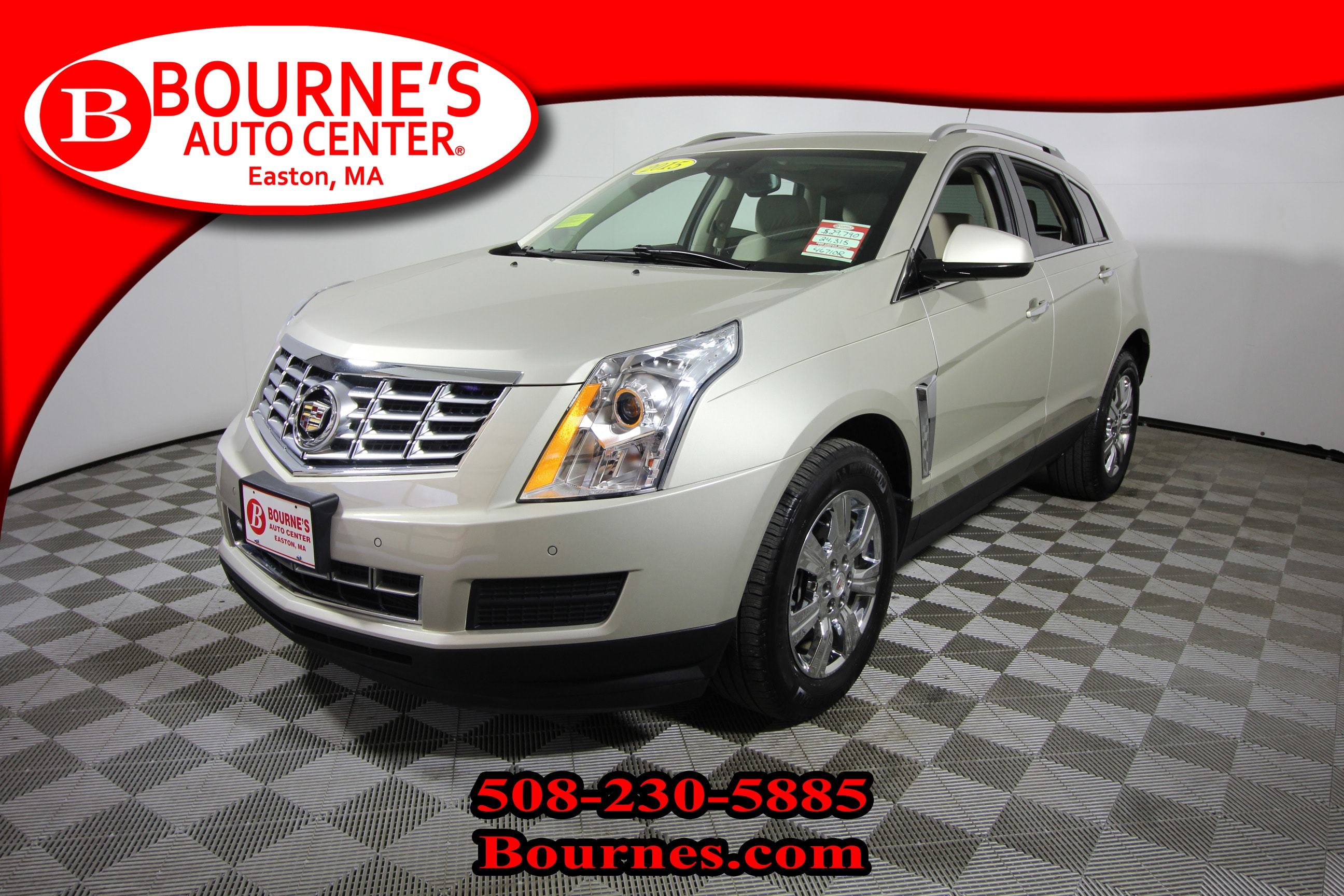 2015 CADILLAC SRX AWD Luxury Collection w/ Navigation,Leather,Sunroo SUV