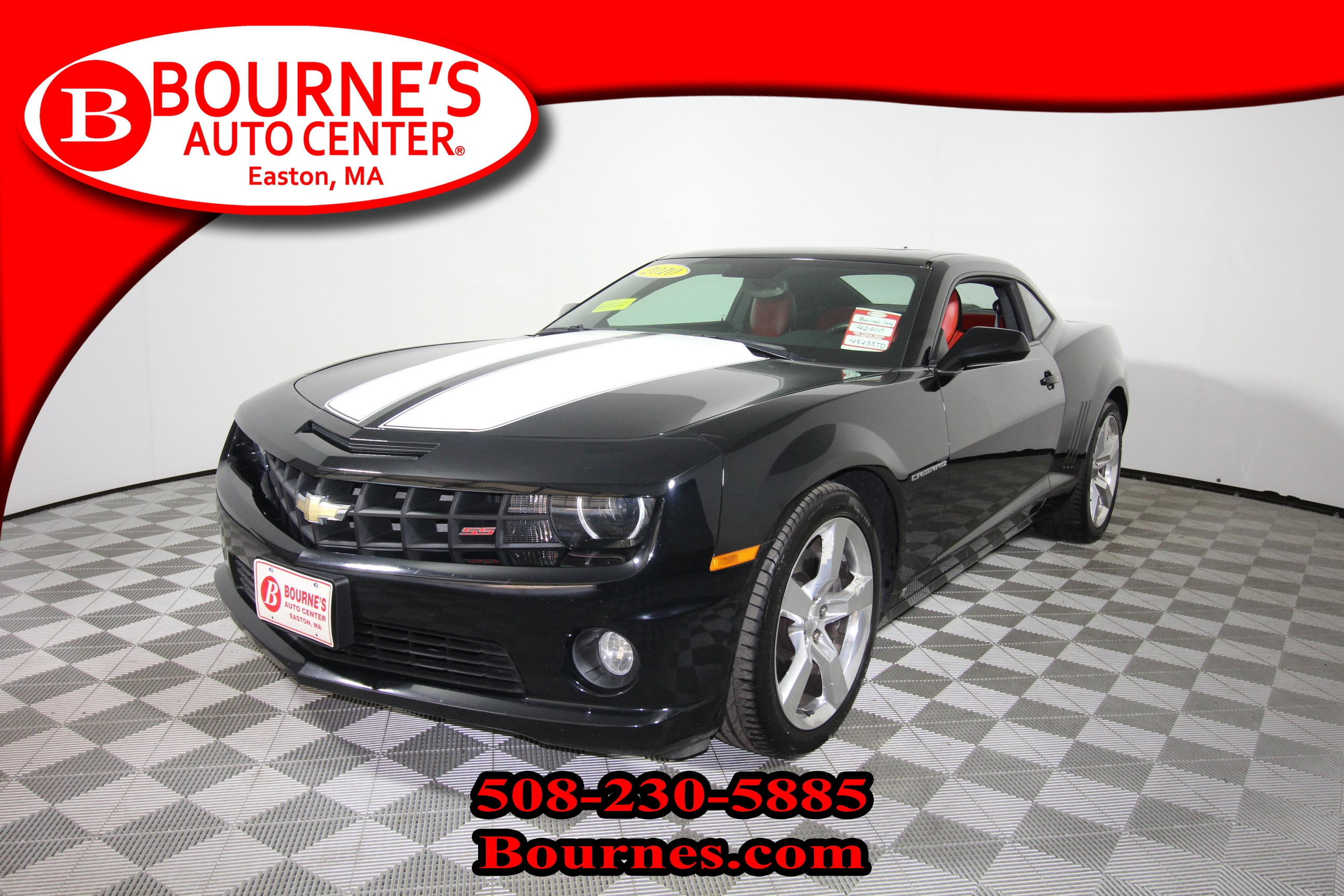 2010 Chevrolet Camaro 2SS w/ Leather,Sunroof, And Heated Front Seats. Coupe