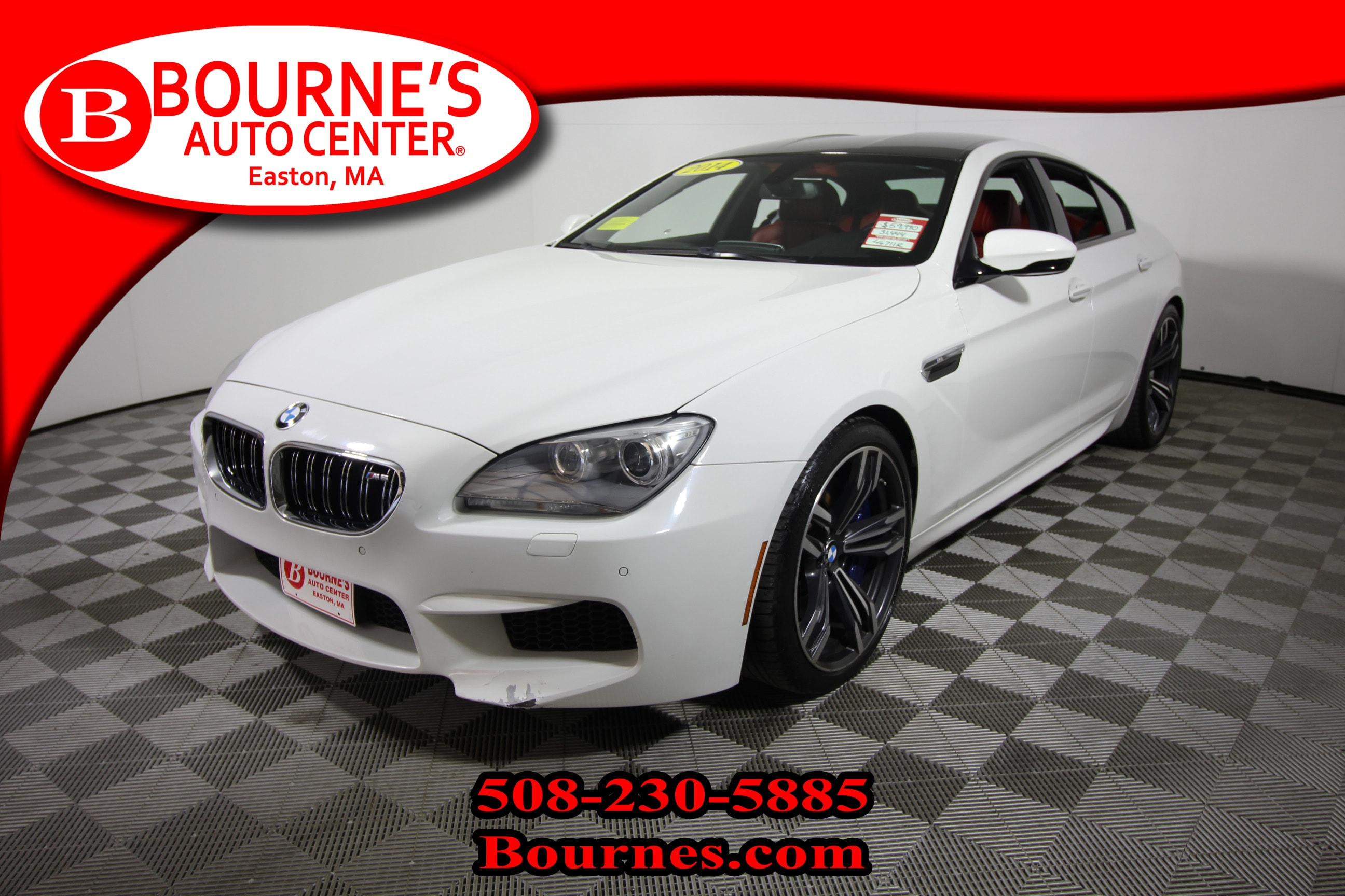 2014 BMW M6 w/ Navigation,Leather,Heated Front Seats, And Back Gran Coupe