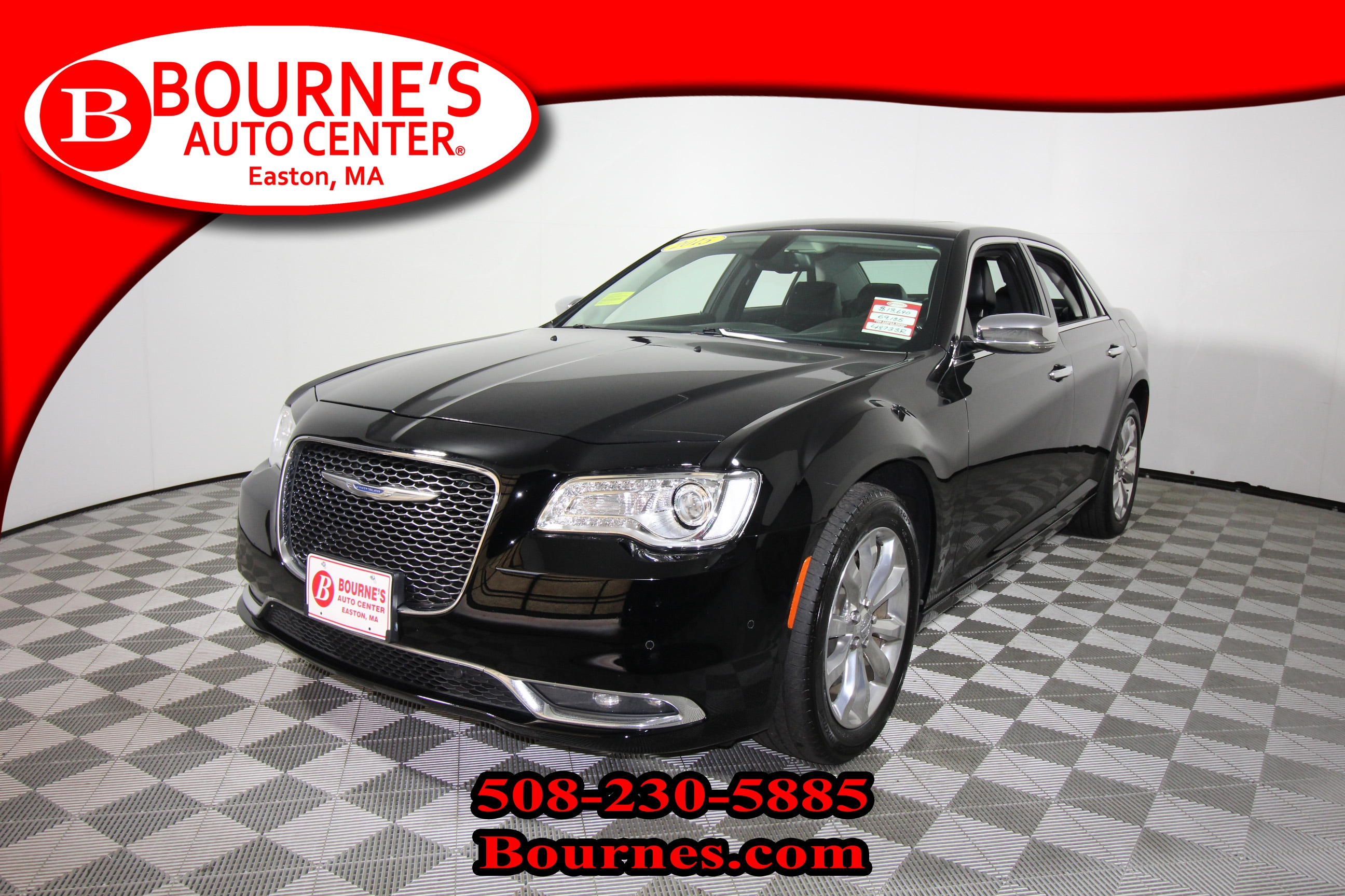 2015 Chrysler 300C AWD w/Navigation,Leather,Sunroof,Heated/Cooled Fro Sedan