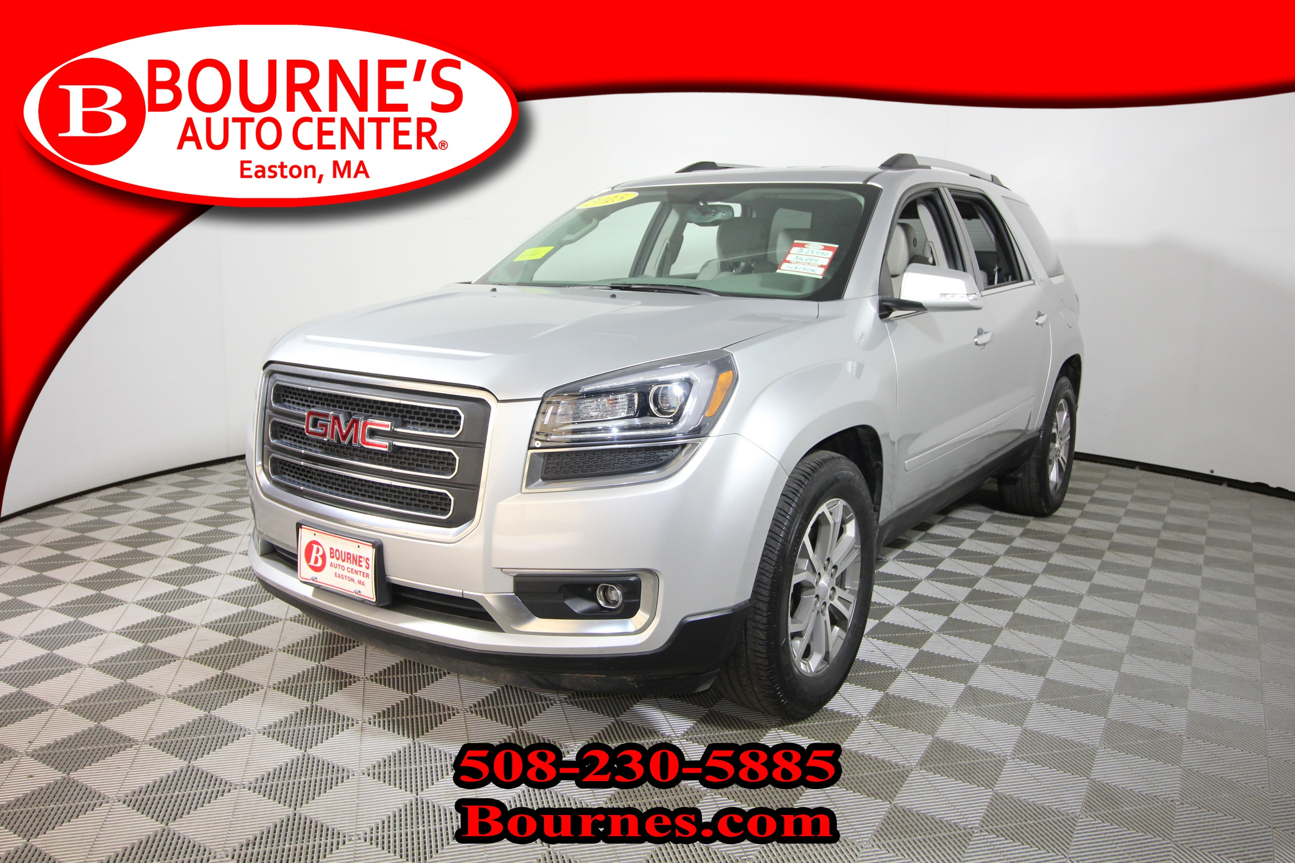 2015 GMC Acadia AWD SLT-1 w/ Navigation, Leather, Heated Front Sea SUV