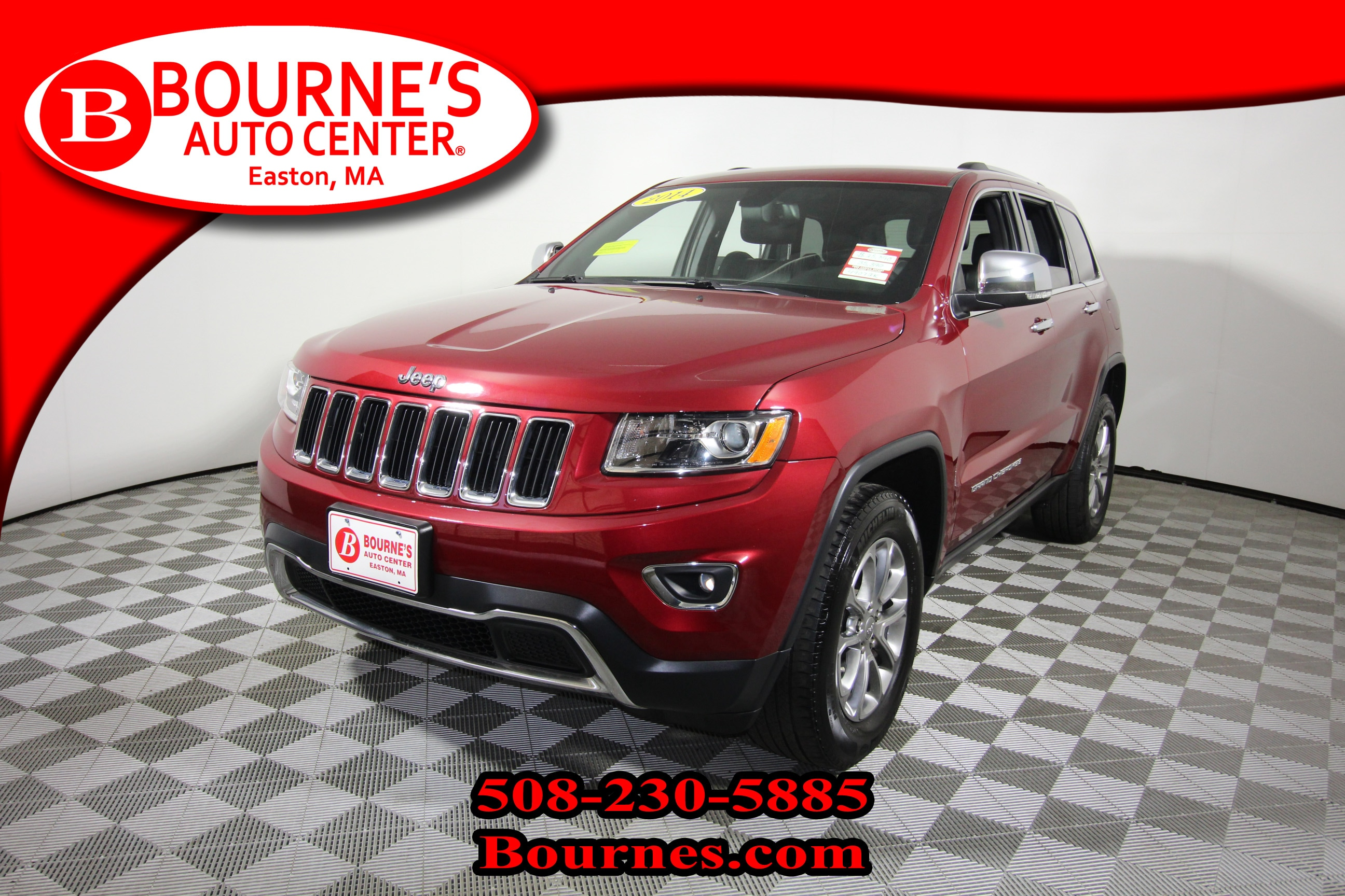 2014 Jeep Grand Cherokee Limited 4x4 w/ Navigation,Leather,Heated Front Sea SUV