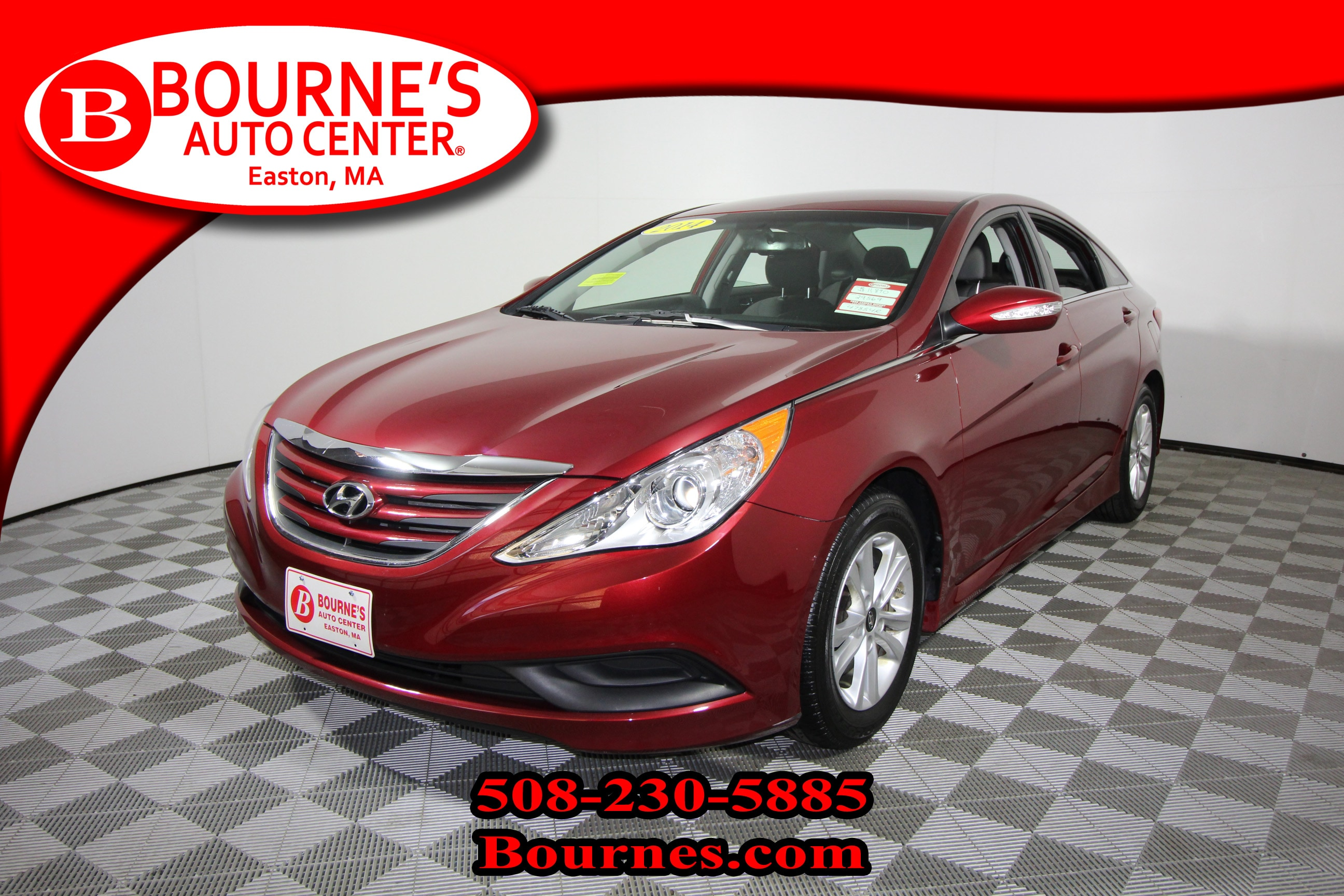 2014 Hyundai Sonata GLS w/ Heated Front Seats And Backup Camera. Sedan