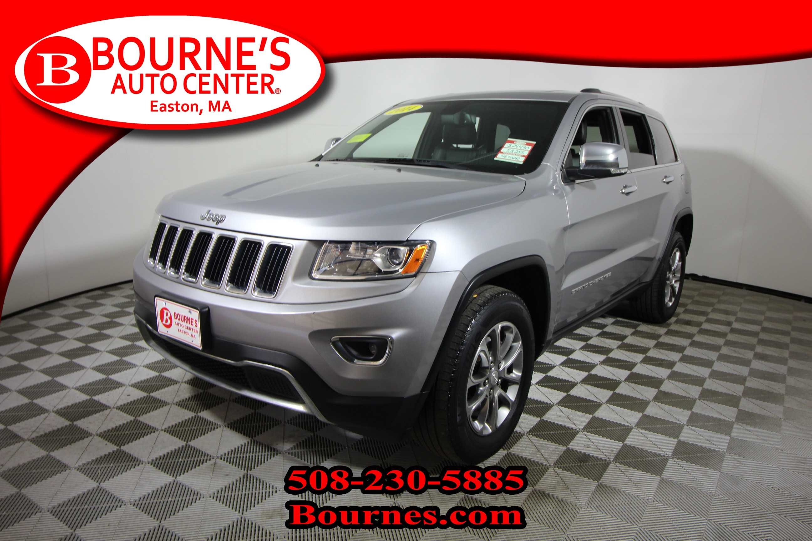2014 Jeep Grand Cherokee Limited 4x4 w/Navigation, Leather, Sunroof, Heated SUV
