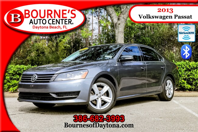 2013 Volkswagen Passat SE XM/ Bluetooth/ Leather Sedan