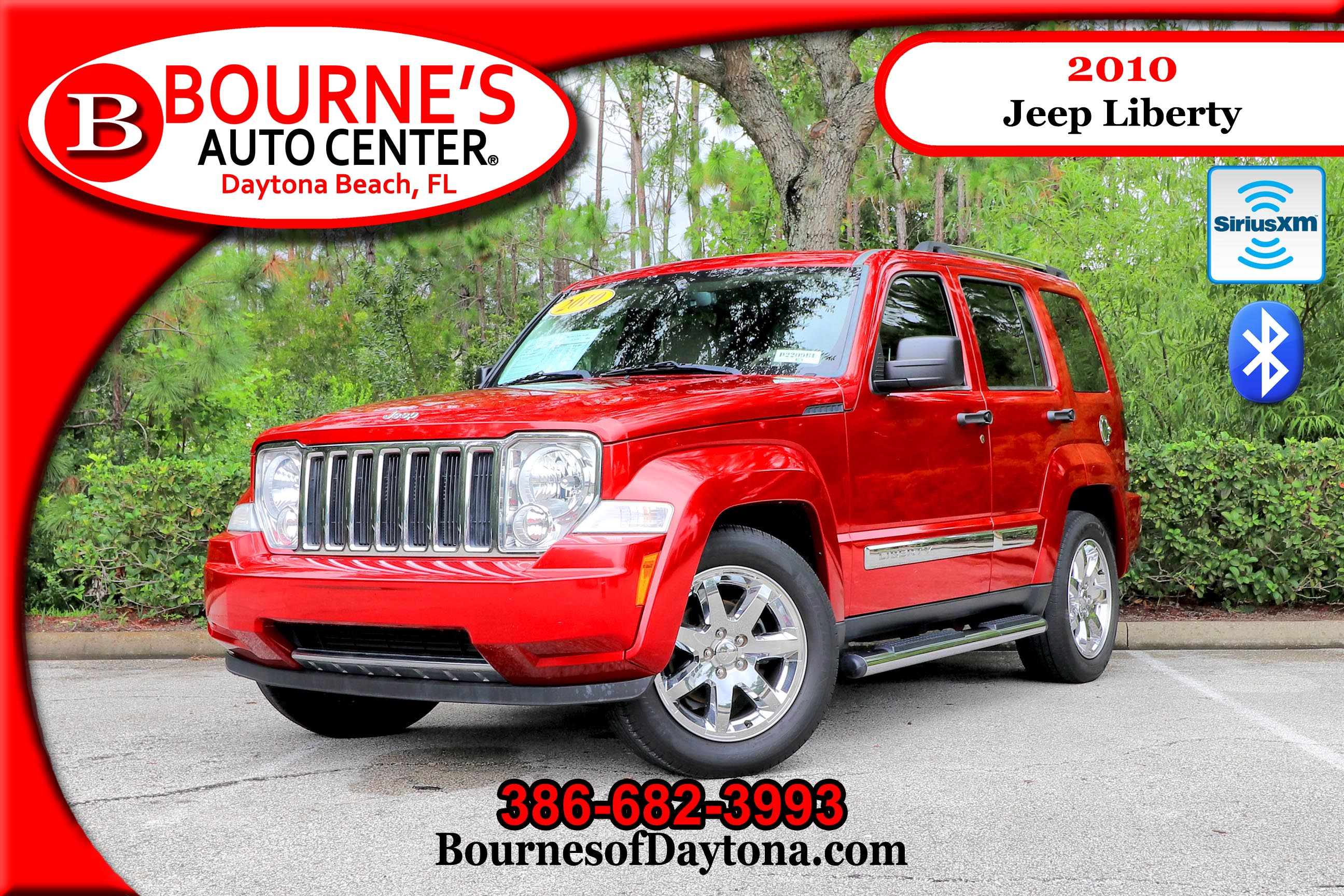 2010 Jeep Liberty Limited XM Radio/ Bluetooth/ Leather SUV