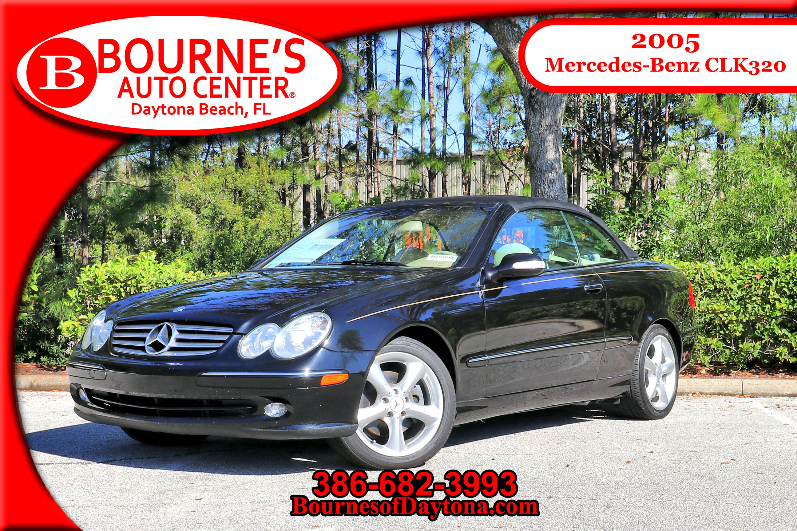 2005 Mercedes-Benz CLK-320 Convertible/ Leather Convertible
