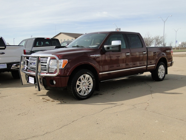 2009 Ford F-150 Platinum Crew Cab Short Bed Truck