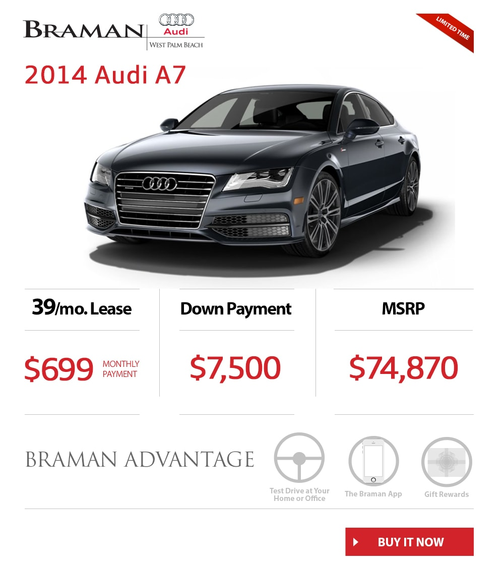 New Audi A Specials Palm Beach South Florida Audi Dealer - Audi dealers in south florida