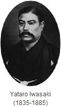 Yataro Iwasaki 1835-1885