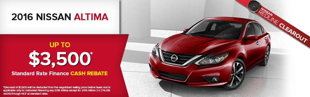 Great Deals on the Altima. Click for Inventory