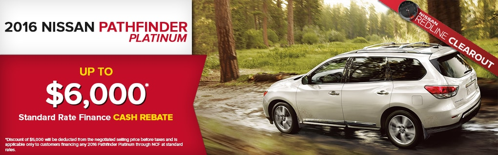 Great Deals on the Pathfinder.  Click for Inventory