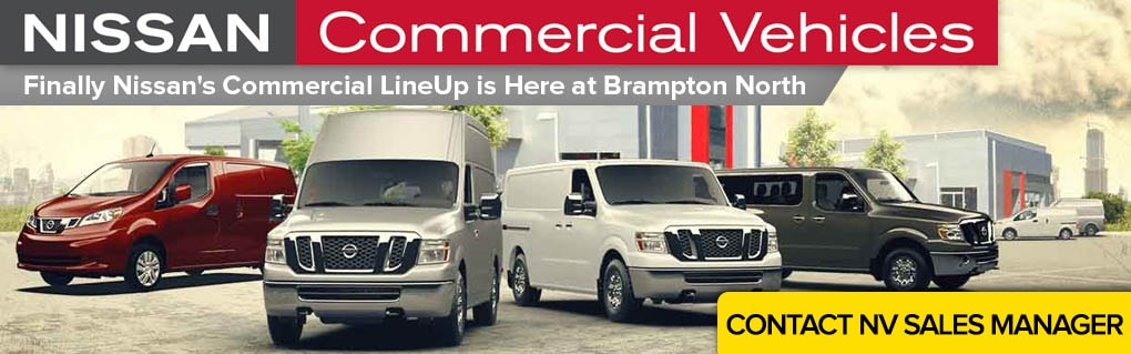 Get more information on Nissan's commercial vehicle lineup