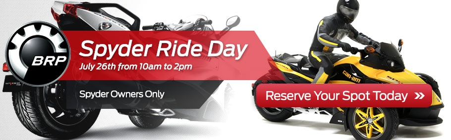 BPS Spyder Ride Day