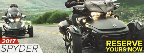 Test Drive Today the New 2017 BRP Can-am Spyder