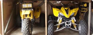 Motorcycle, ATV, Snowmobile, Watercraft Storage