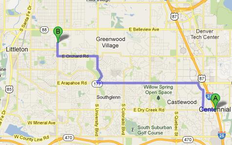 dodge ram dealer centennial area directions to brandon dodge on broadway. Black Bedroom Furniture Sets. Home Design Ideas