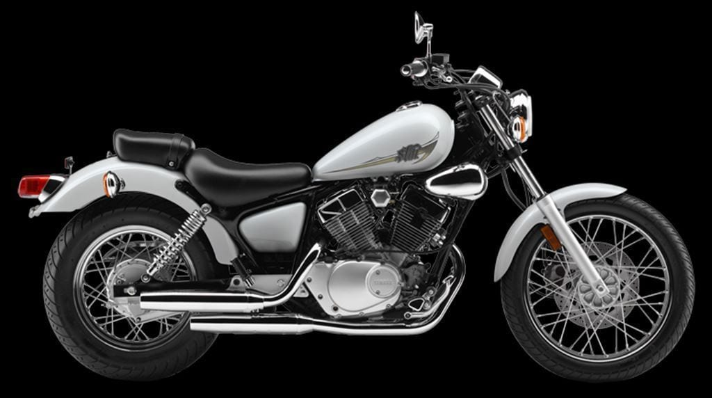 Yamaha V Star 250 White