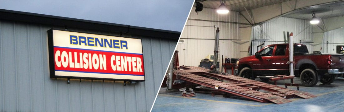 Collision Center - Brenner Car Credit in Miffilintown, PA