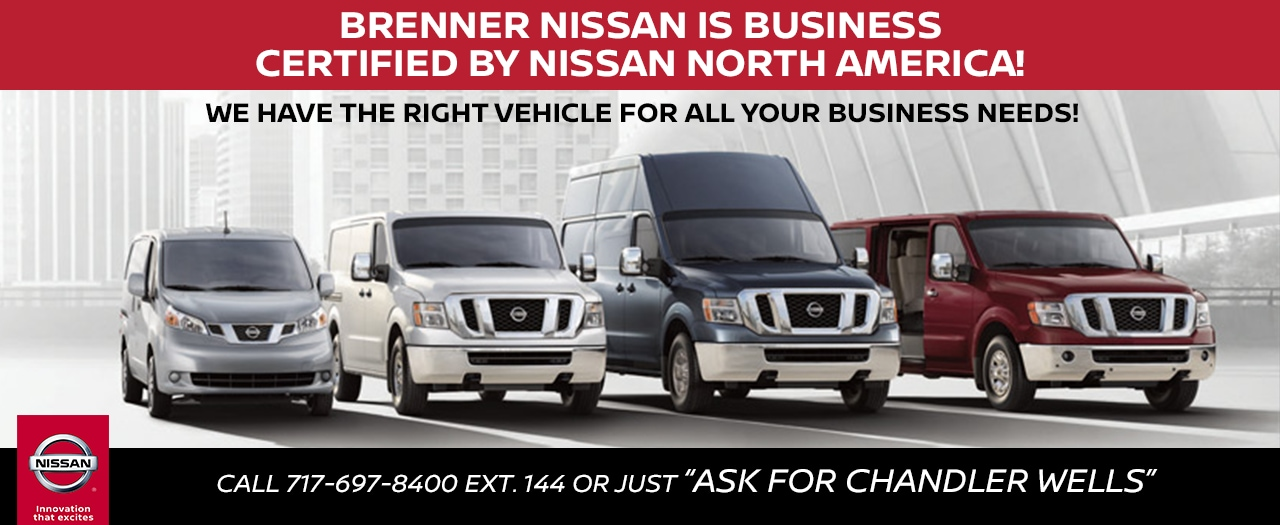 Brenner Nissan Commercial Vehicles