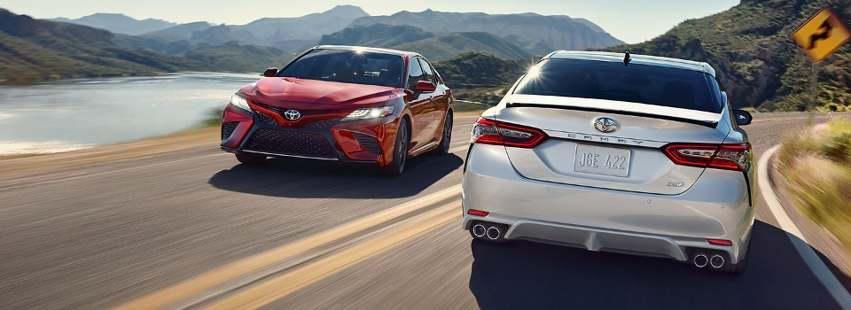 test drive the 2018 toyota camry