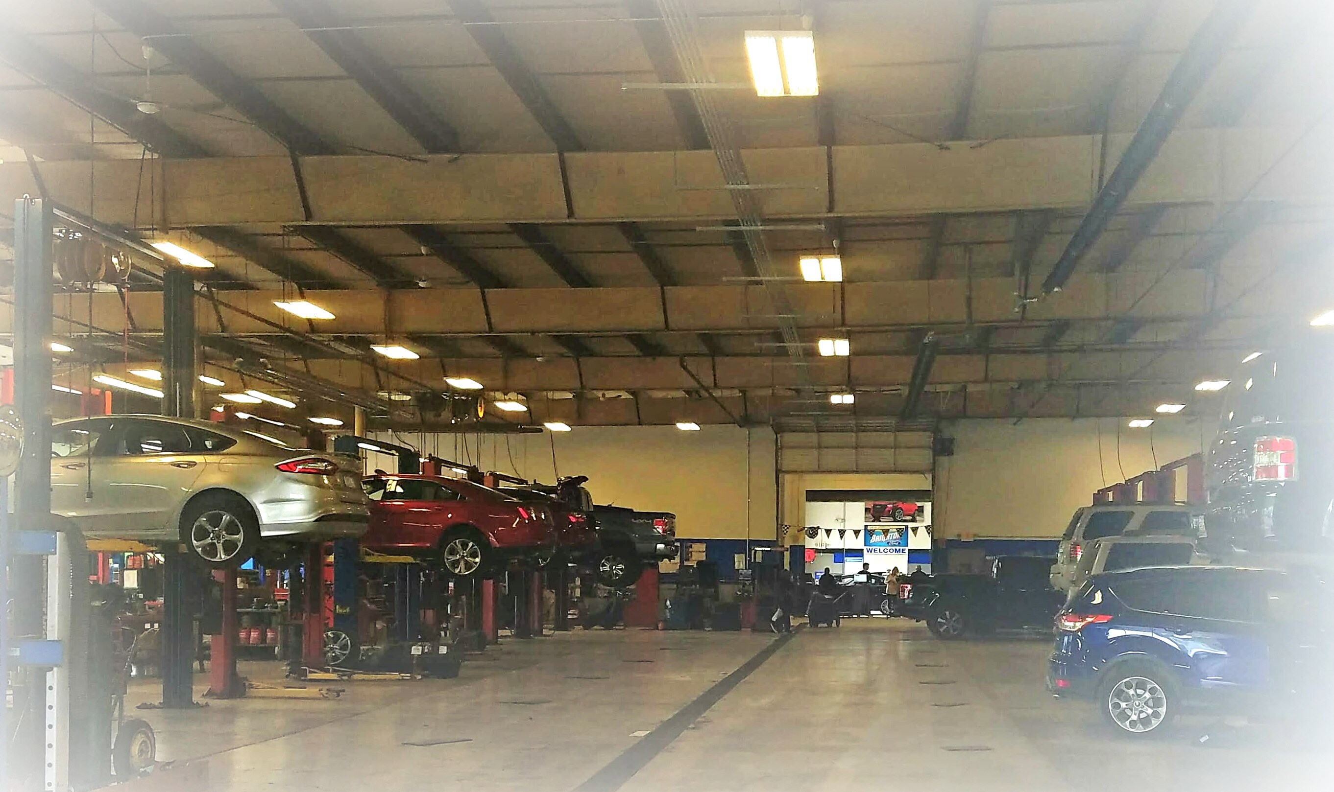 Brighton ford car repair auto service center for Ford motors service center