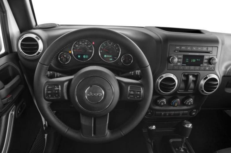 2017 Jeep Wranlger Interior