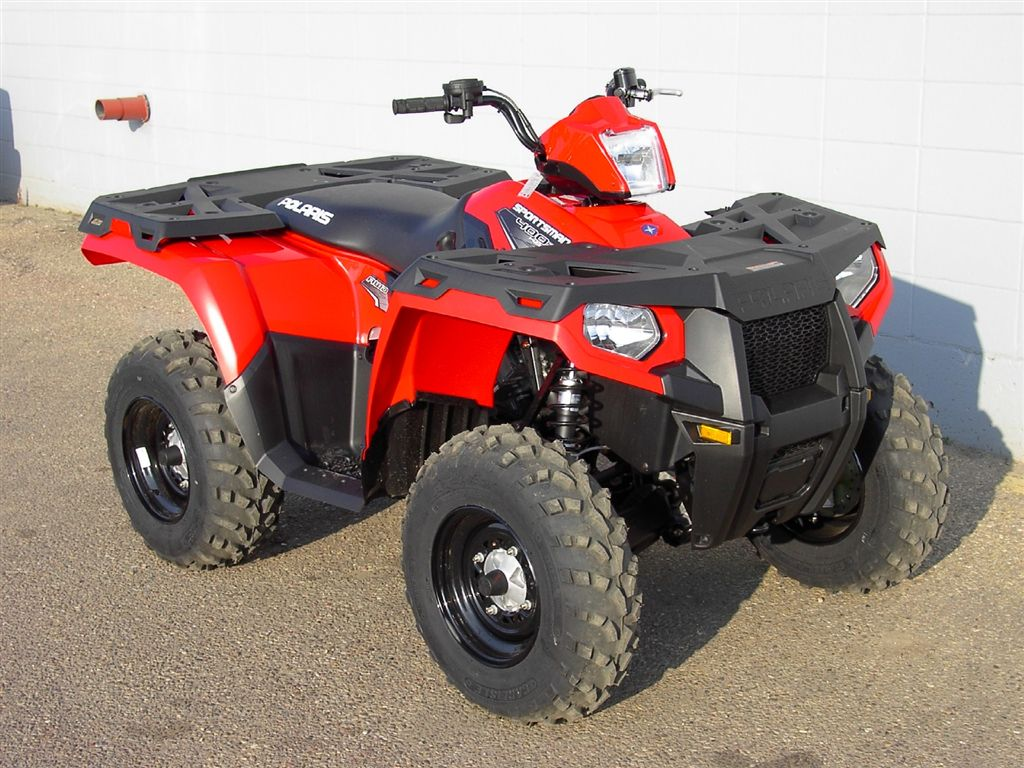 New 2013 POLARIS Sportsman 500 HO red -