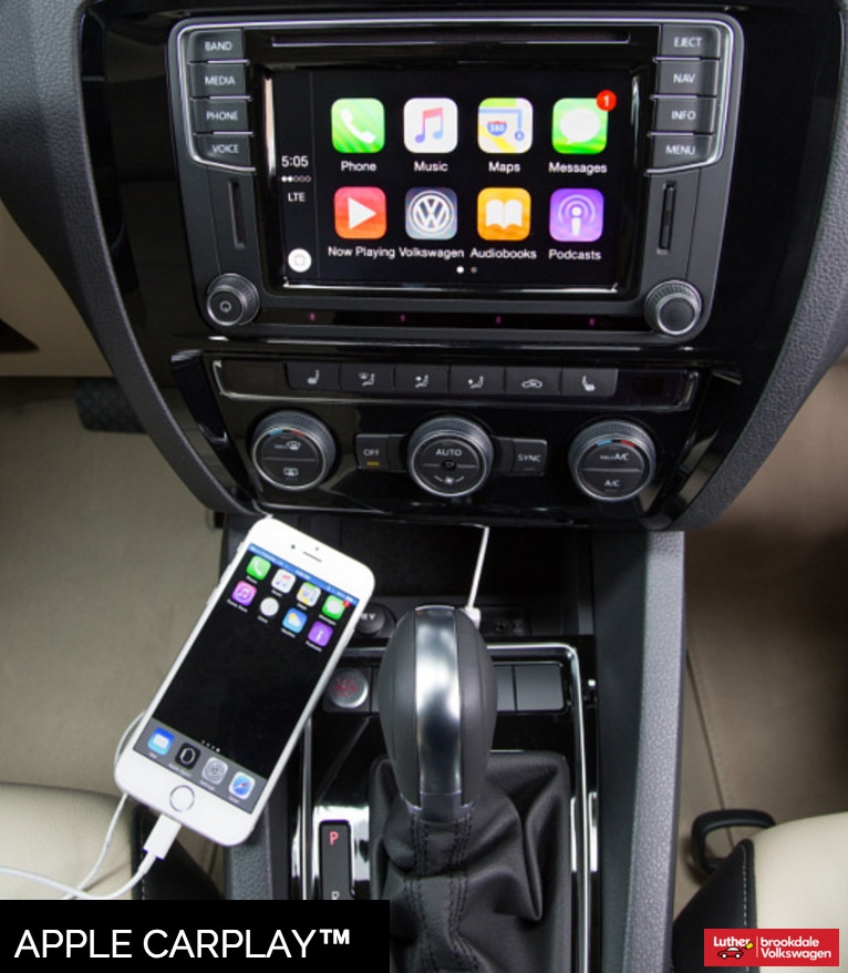 brookdale volkswagen car net app connect and apple carplay on the volkswagen jetta luther. Black Bedroom Furniture Sets. Home Design Ideas