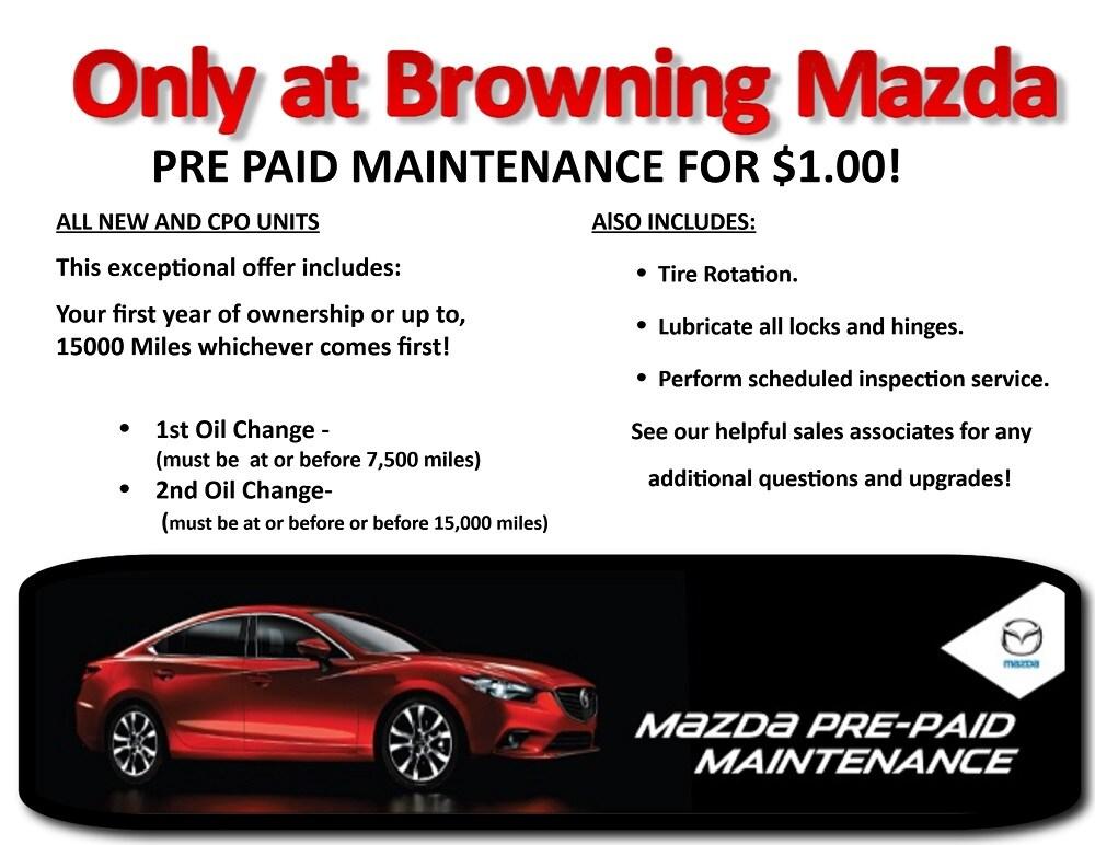 Browning mazda coupons